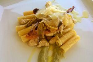 Rigatoni crema di carciofi (2)